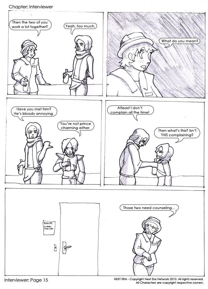 Interviewer Page 15
